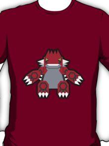 Pokévector: Groudon T-Shirt