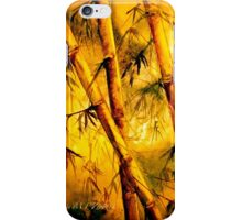 Heat And Old Bamboo... iPhone Case/Skin