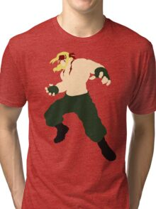 Minimalist Alex (Street Fighter Three) Tri-blend T-Shirt