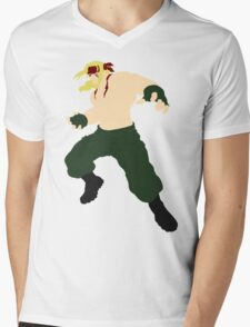Minimalist Alex (Street Fighter Three) Mens V-Neck T-Shirt