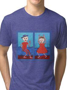 Dead Can Dance Boy and Girl Tri-blend T-Shirt