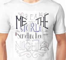Dream Me the World Unisex T-Shirt