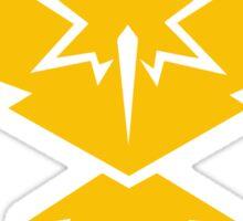 Pokemon Go - Team Instinct (Light) Sticker