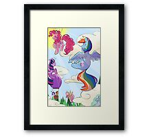Up Up And Away! Framed Print