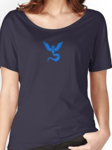 Pokemon Go - Team Mystic (Dark) Women's Relaxed Fit T-Shirt