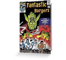 Fantastic Burgers Greeting Card