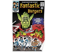 Fantastic Burgers Poster