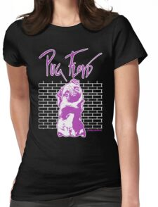 Pug Floyd Womens Fitted T-Shirt