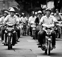 Traffic ... Ho Chi Minh City , Vietnam ... #03 by Malcolm Heberle