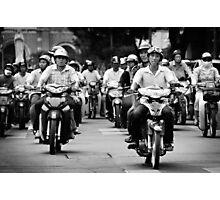 Traffic ... Ho Chi Minh City , Vietnam ... #03 Photographic Print