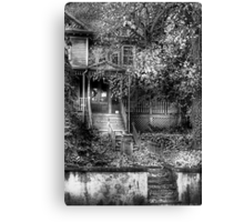 Abandoned and Possibly Haunted Canvas Print
