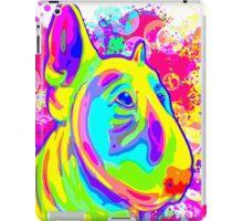 Colour Splash Bull Terrier Poster  iPad Case/Skin