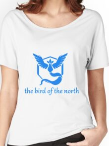 The Bird of The North - Team Mystic - Pokemon Go Women's Relaxed Fit T-Shirt