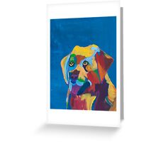 'Dog' by Zoe Nankivell (2016) Greeting Card