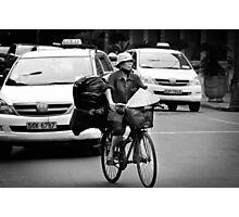 Traffic ... Ho Chi Minh City , Vietnam ... #04 Photographic Print