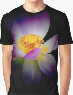Rebirth of a Luminous Lotus Graphic T-Shirt