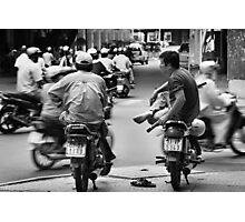 Time Out ... Ho Chi Minh City ... Vietnam Photographic Print