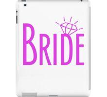 Bride Bling Hot Pink iPad Case/Skin