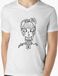 Cheeseburg Mens V-Neck T-Shirt