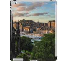 Auld Reekie at sunrise iPad Case/Skin