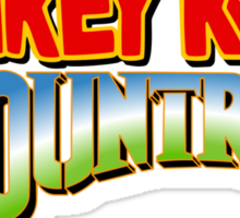 Donkey kong Country tank top Sticker