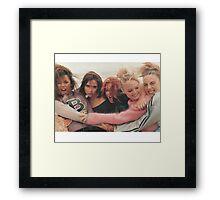 Spice girls 90s  Framed Print