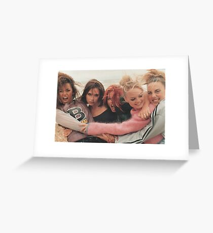 Spice girls 90s  Greeting Card