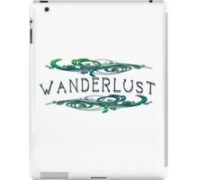Wanderlust  -  Elegant Traveler  iPad Case/Skin