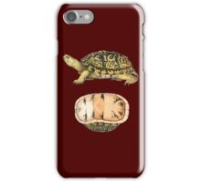 Turtle & Shell (1876) iPhone Case/Skin