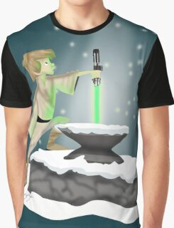 The Saber In The Stone Graphic T-Shirt
