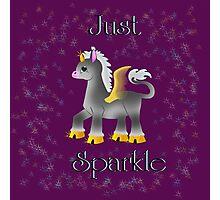 Just Sparkle Photographic Print