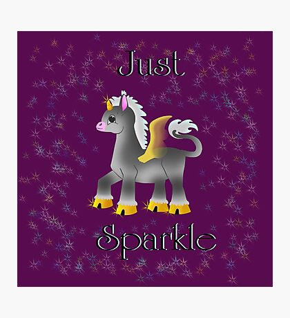 Just Sparkle Photographic Print