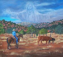 The Real King of the Cowboys by EllieTaylorArt