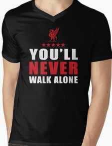 Liverpool Fans Mens V-Neck T-Shirt
