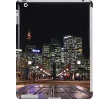 Sydney, Australia - night time walk iPad Case/Skin