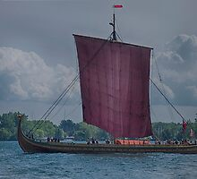 The Dragon Harald Harfagre at Toronto's Harbourfront by Gerda Grice