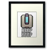 Beep Boop Framed Print