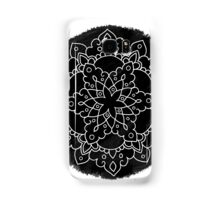 Black Brush Mandala Samsung Galaxy Case/Skin