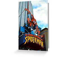 The Amazing Adventures of Spider-Man Greeting Card