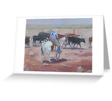 All American Cowboy Greeting Card