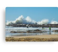 Waves of Fury Canvas Print