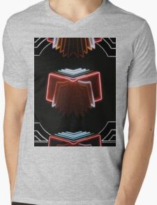 Neon Bible Mens V-Neck T-Shirt