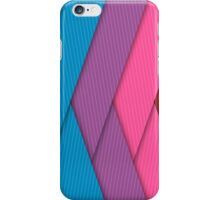 Jagged Rainbow Stripes iPhone Case/Skin