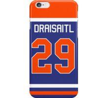 Leon Draisaitl Jersey phone case iPhone Case/Skin