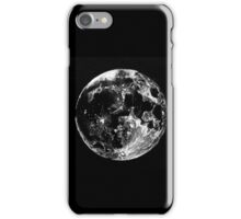 Black and White Moon Sketch iPhone Case/Skin
