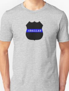 Dallas police shooting victims honored Unisex T-Shirt