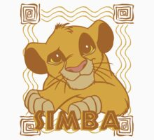 Simba Cub - The Lion King One Piece - Short Sleeve