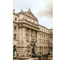 Coming Up on Somerset House Photographic Print