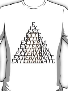Doctor Who Dalek — EXTERMINATE T-Shirt