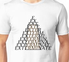 Doctor Who Dalek — EXTERMINATE Unisex T-Shirt